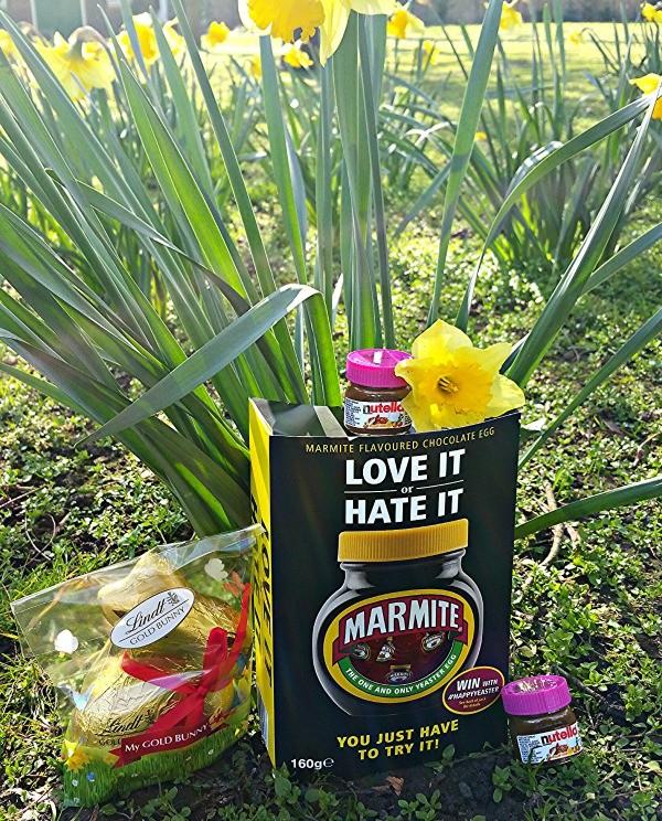 Easter eggs, chocolate, Easter in London, Marmite, Cadbury