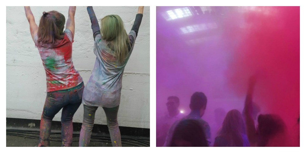 Holi Collage