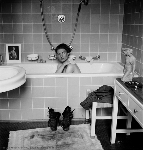 Lee Miller, Imperial War Museum, Photography, War, Hitler, Supermodel
