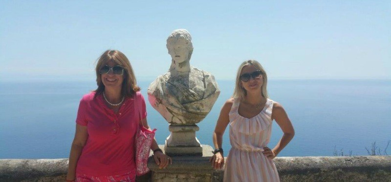 Ravello, Italy, Amalfi Coast, Gore Vidal