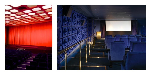 The majestic Curzon Mayfair (left) and the  funky Curzon Mondrian,(right) the latest addition to the Curzon chain.