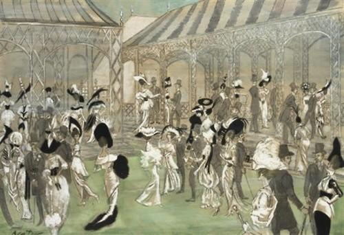 Cecil Beaton sketch for My Far Lady