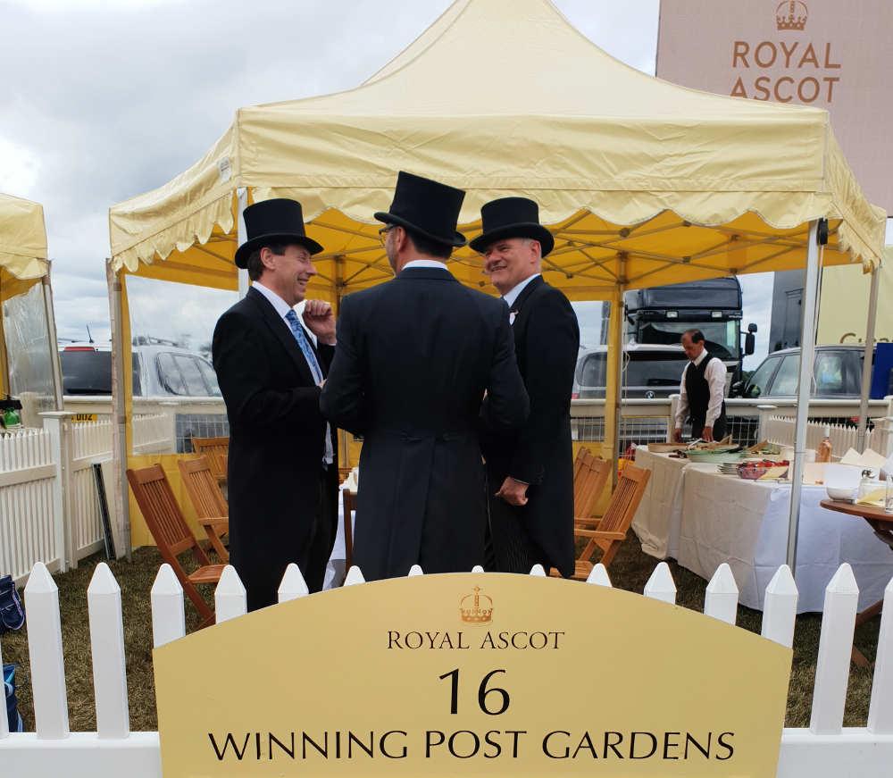 Royal Ascot winning post