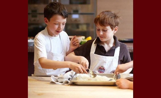 Caldesi, Cookery School, Marylebone, Kids Cooking