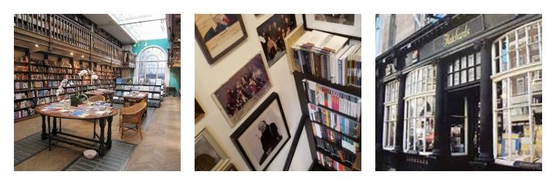 Bookshops, London, Address Book