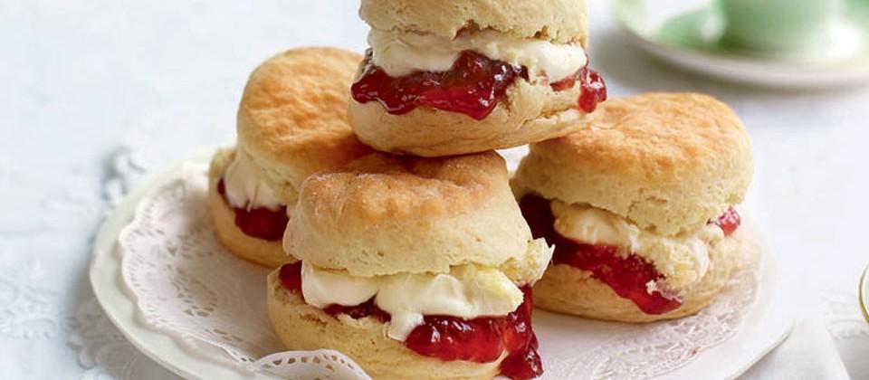 British Food, English Food, Scone, Clotted Cream, Being British