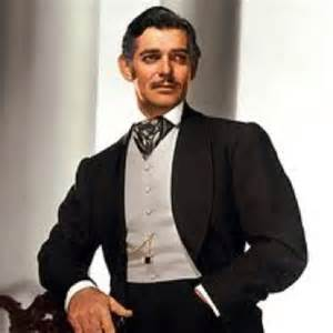 I can't tell you how many times I've had someone introduce themselves to me as Rhett Butler (for those of you don't know, my name is Scarlett). What woman doesn't swoon at Clark Gable's Rhett though? Sigh…