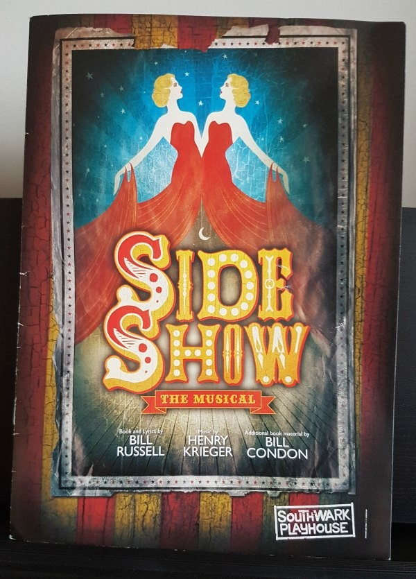 Sideshow, Musical, London, Theatre