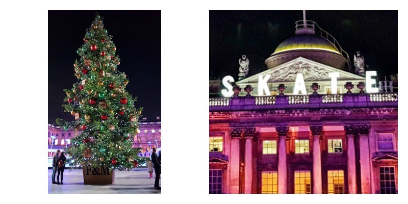 Skate, Somerset House, London, Christmas