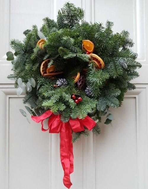 Geffrye Museum in Shoreditch, Christmas Wreath
