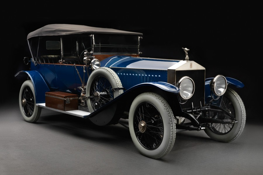 Rolls Royce Silver Ghost, Midnight in Paris, Midnight in London, Woody Allen