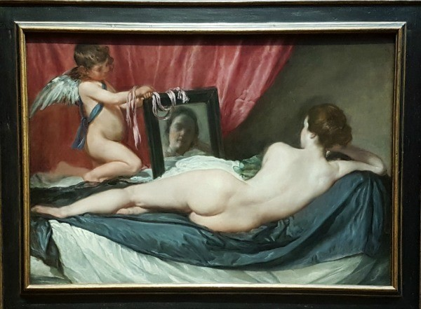 Valentine's day, erotic art London, National Gallery, Cupid, Venus