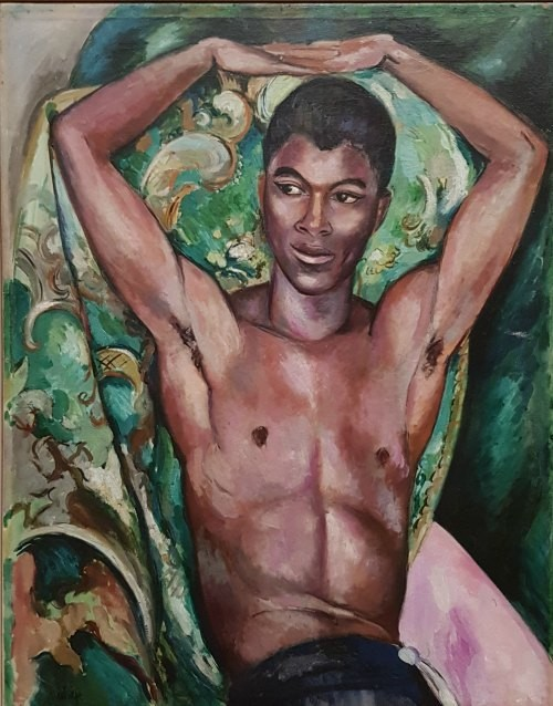 Edward Wolfe, Portrait of Patrick Nelson, Queer Art, tate Britain, LGBT art, gay art