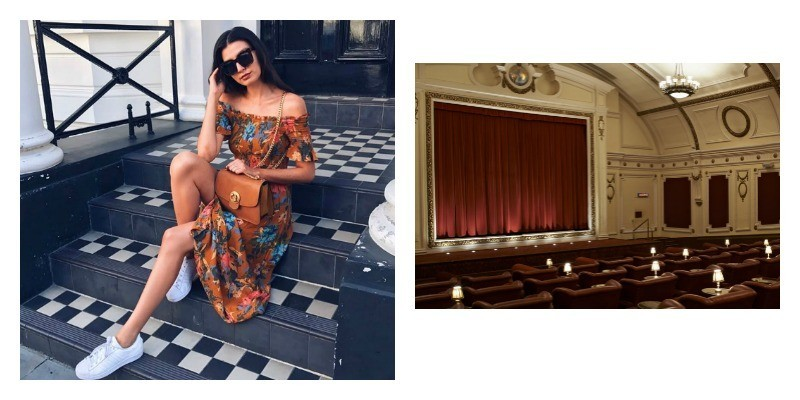 Real Ladies of London, perfect day in London, Electric Cinema, Osteria Basilico