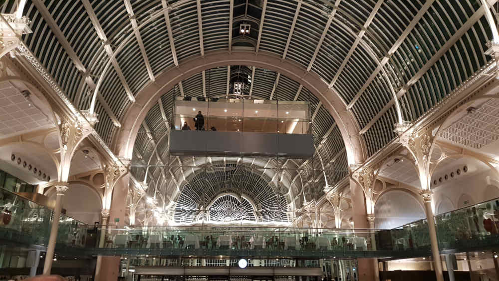 eating at royal opera house, where to eat in covent garden, restaurant near opera london