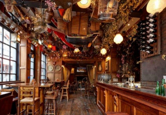 Restaurants near London's opera, Mr Foggs, Covent Garden, ROH, ENO