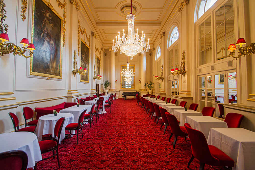 Restaurants near London's opera, Royal Opera House, Crush Room, restaurants in Covent Garden