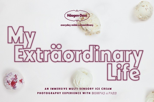 Haagen Dazs, An Extraordinary Life, Bompas and Parr, London Pop-Up, Ice cream, May in London