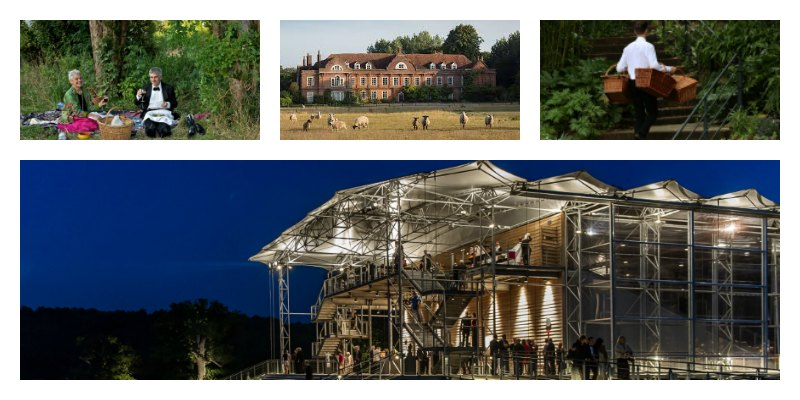 Summer in London, London Season, Country House Opera, Glyndebourne, Garsington, Grange Park