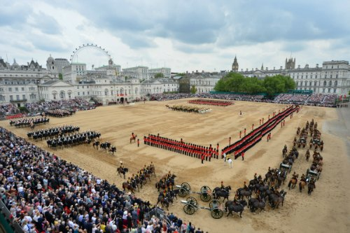 Summer in London, London Season,, Trooping the Colour