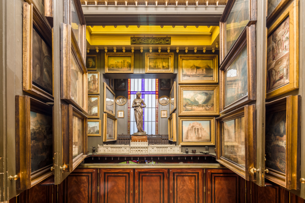 London's best house museums, small museums London, Hogarth, architecture, London history, Soane Museum