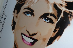 Diana, Princess of Wales, London