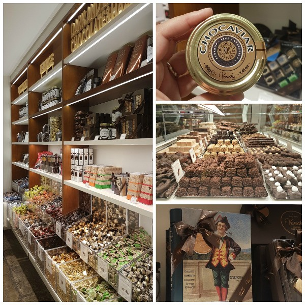 Venchi Chocolates, Gelato, London, Covent Garden