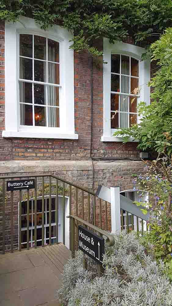 Afternoon Tea Buttery Cafe Burgh House Hampstead