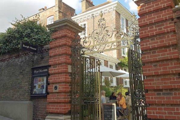 Afternoon Tea Buttery Café Burgh House Hampstead