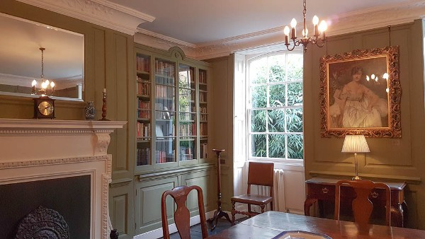 Burgh House Hampstead, Rudyard Kipling