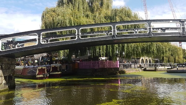 GoBoat, London canals, Camden Lock