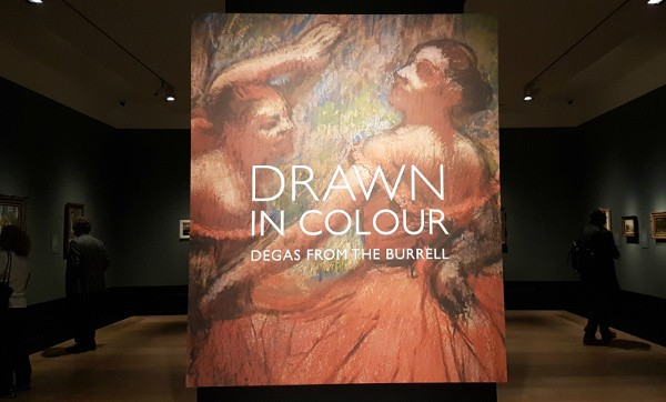 Degas, Drawn in Colour, Burrell Collection, National Gallery