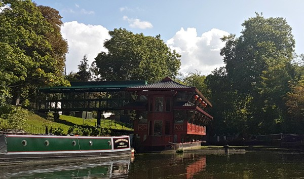 GoBoat, London canals, Regent's Canal, FengShang, London canal restaurant