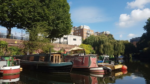 GoBoat, Little Venice, London canals, canal boats