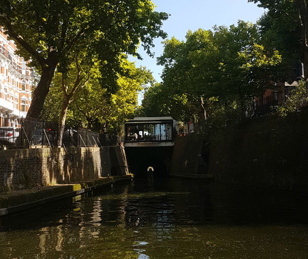 GoBoat, London canals, Regent's Canal, Maida Hill tunnel