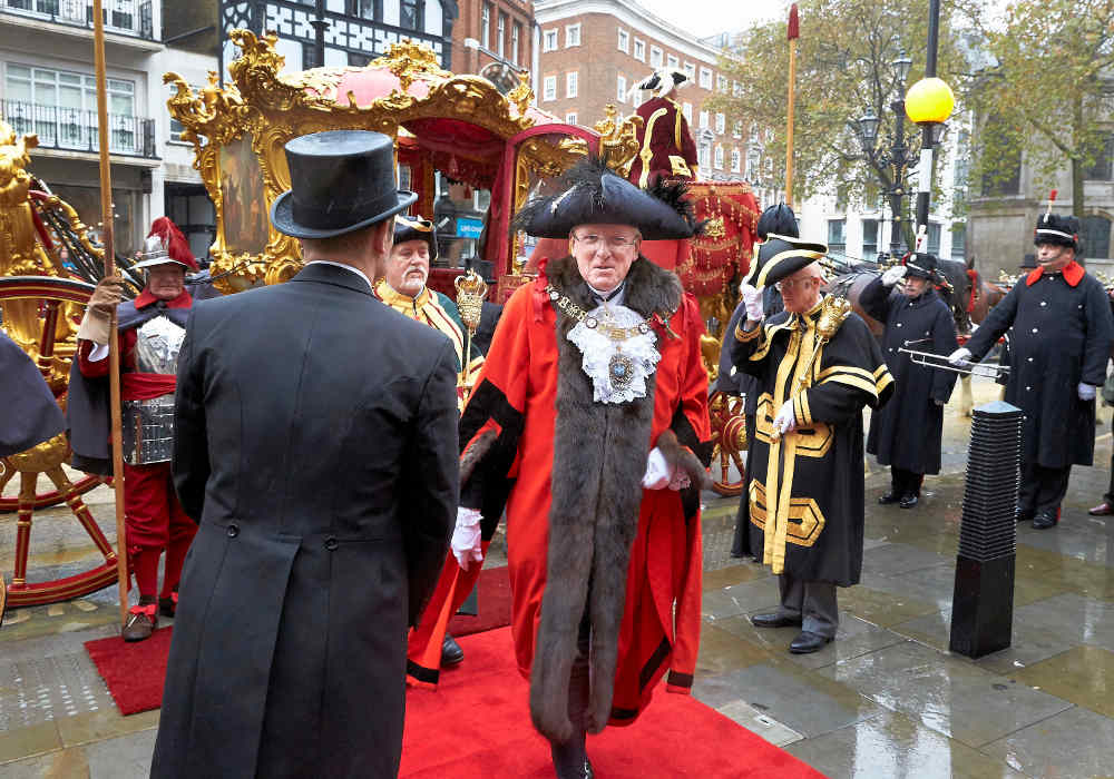 Andrew Parmley, Lord Mayor of London, London pageantry, Lord Mayor's Show, Harrodian