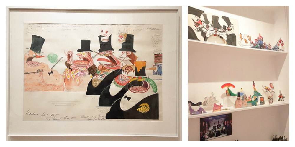 Gerald Scarfe, House of Illustration, London exhibitions