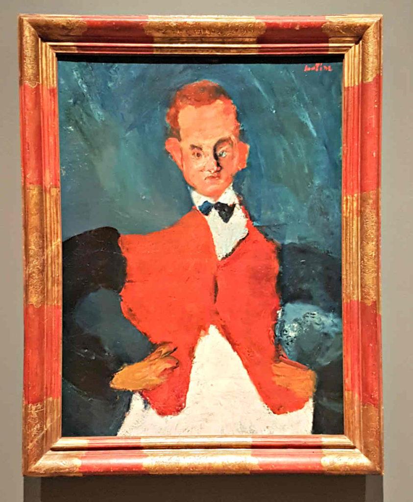 Soutine, Courtauld, London exhibition, Room Service Waiter