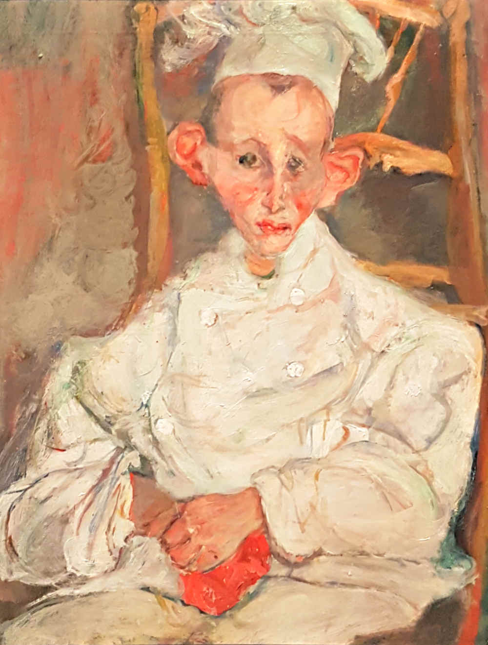 Soutine, Courtauld, London exhibition, Pastry Boy