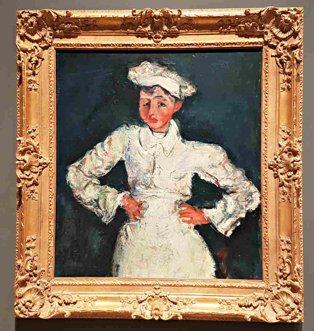 Soutine, Courtauld, London exhibition, Pastry Cook