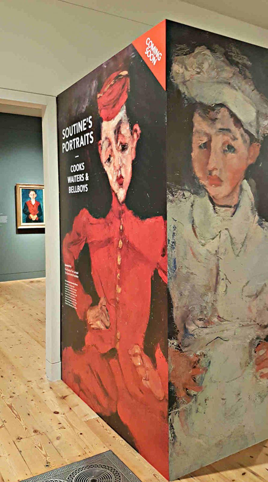 Sutine, Courtauld, London exhibition