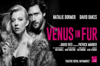 Venus in Fur, Theatre Royal Haymarket, London, Natalie Dormer, David Oakes