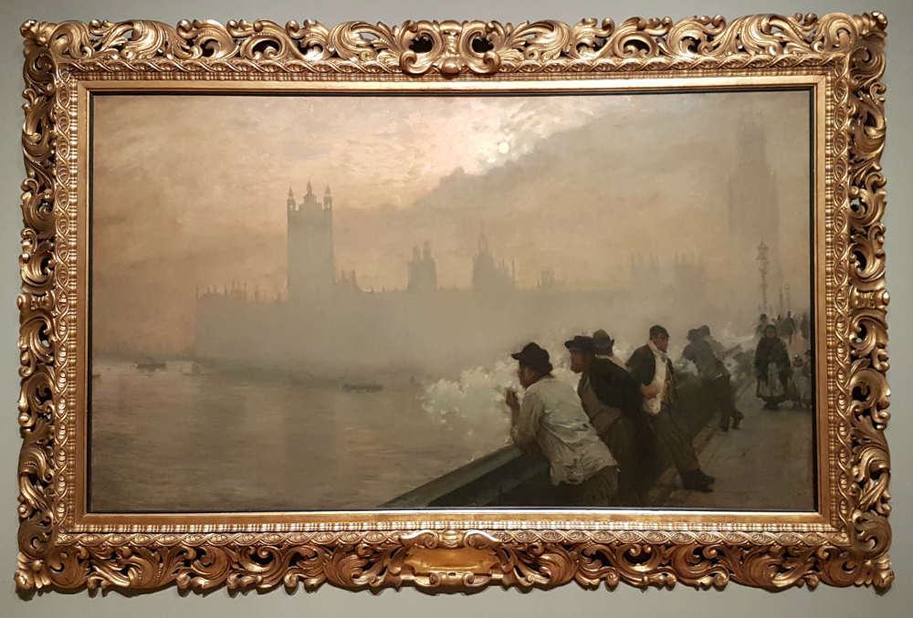 Giuseppe de Nittis, Westminster -  Impressionists in London at Tate Britain, Impressionists in London