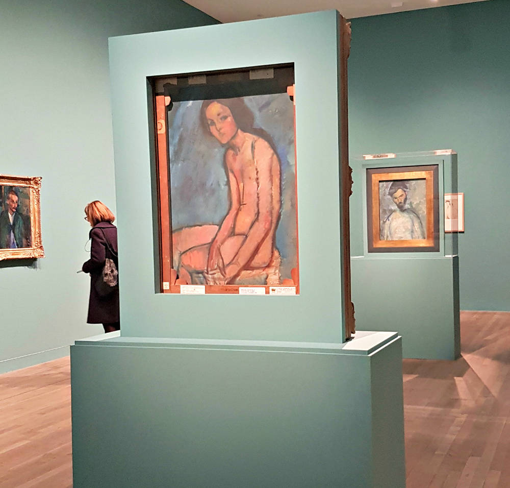 Modigliani at the tate modern, Modigliani exhibition, tate modern, erotic art London, Modigliani nudes