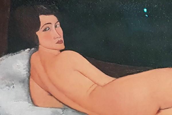 Modigliani at the tate modern, Modigliani exhibition, tate modern, erotic art London, Modigliani nudes, virtual reality