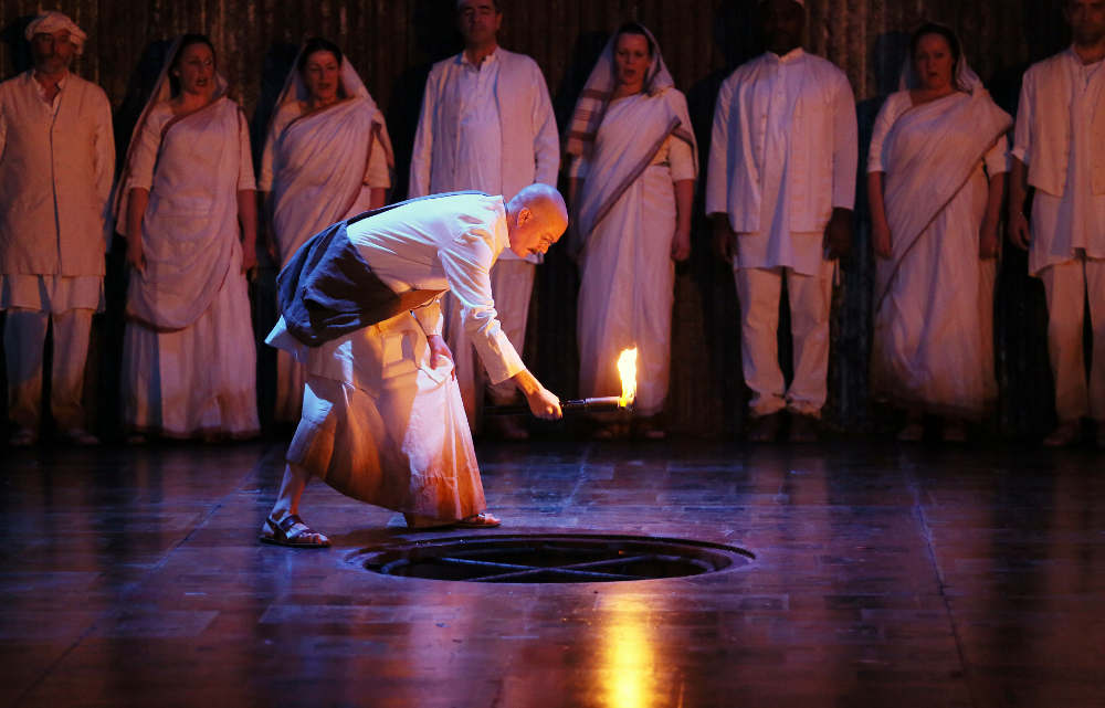 Satyagraha, ENO, Coliseum, Philip Glass, opera London, Ghandi