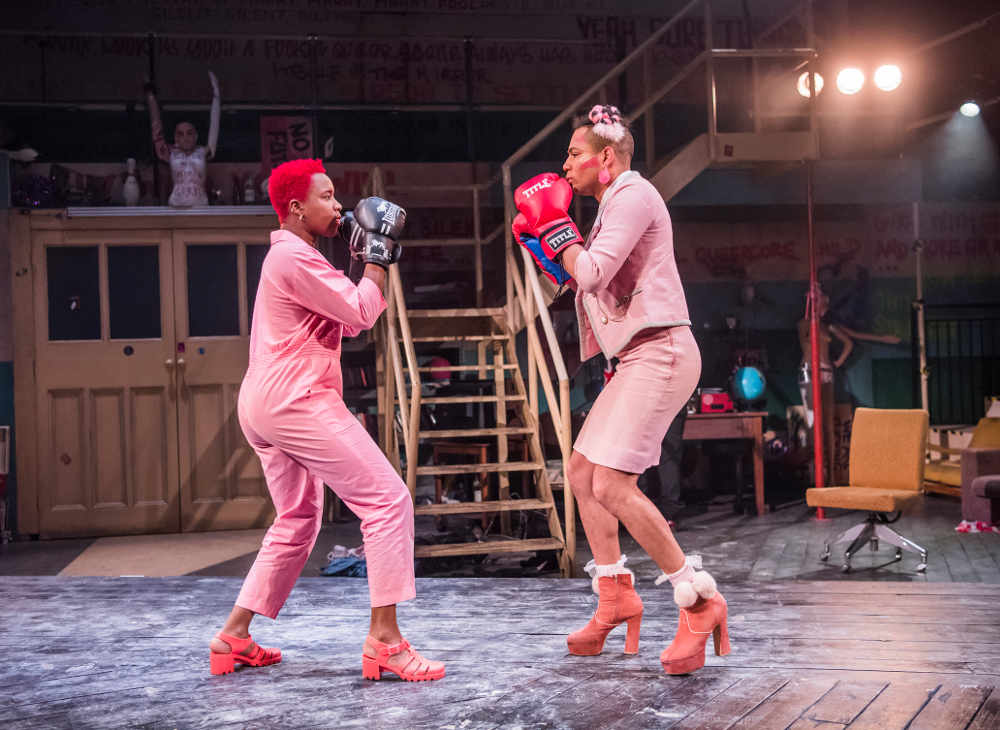 Jubilee, Lyric Hammersmith, punk, Derek Jarman, Chris Goode, theatre review