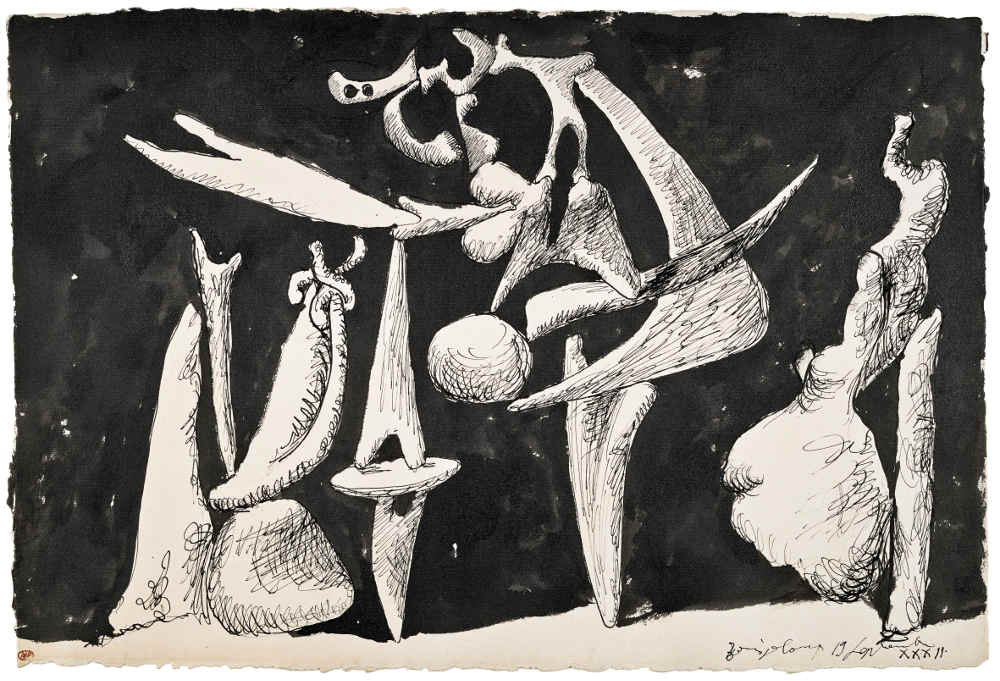 Picasso, Tate Modern, surrealism, Picasso 1932, Le Reve, art exhibition London