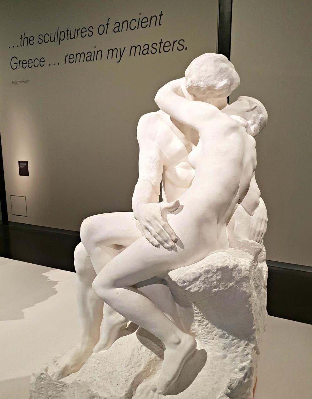 Erotic London, Erotic Art London, Erotic Art in London, Rodin, Tate. The Kiss