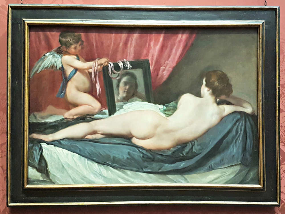 Erotic London, Erotic Art London, Toilet of Venus, Velazquez